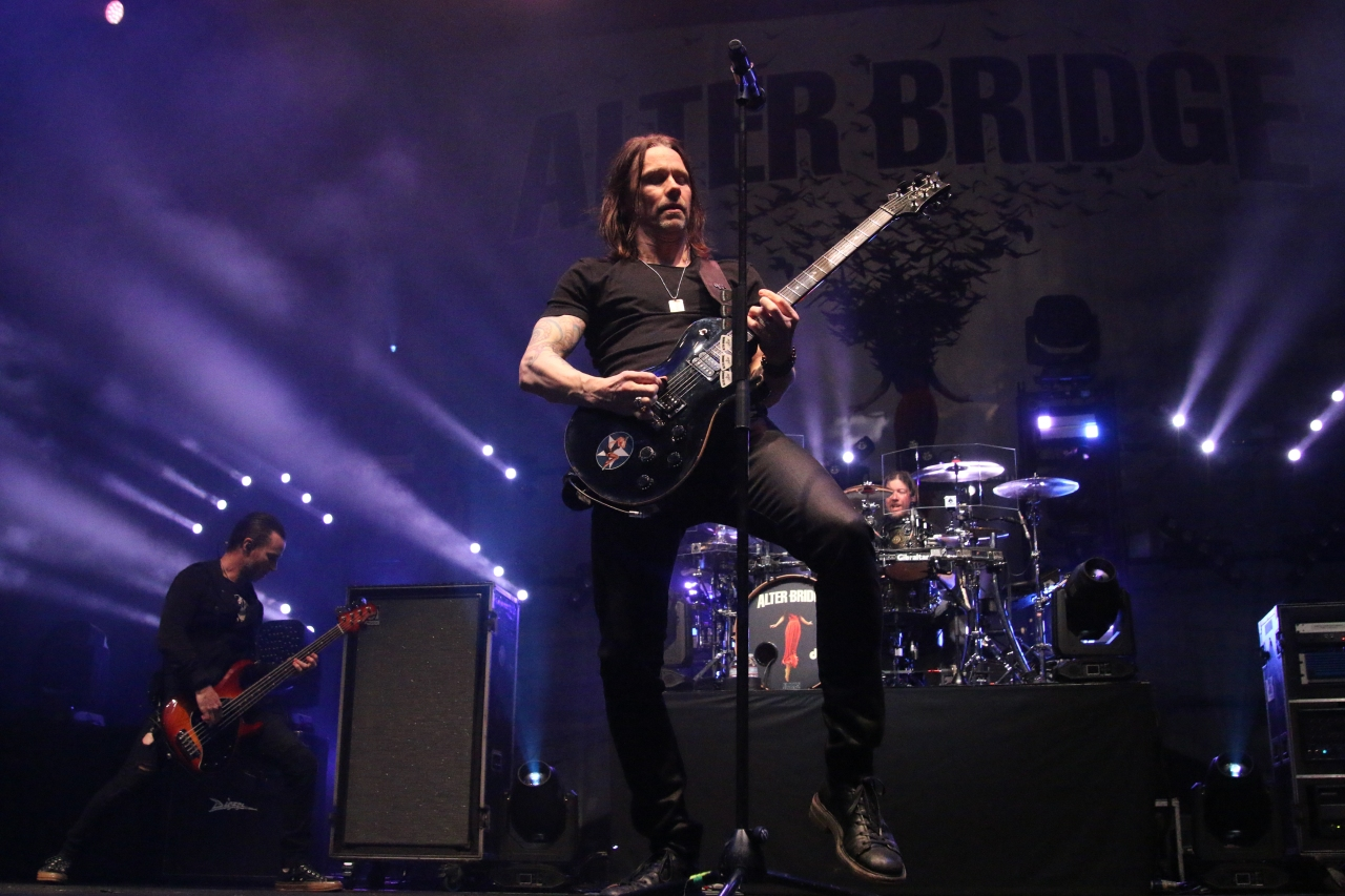 Alter Bridge: Walk The Sky Tour wsg/ Clint Lowery & DEEPFALL